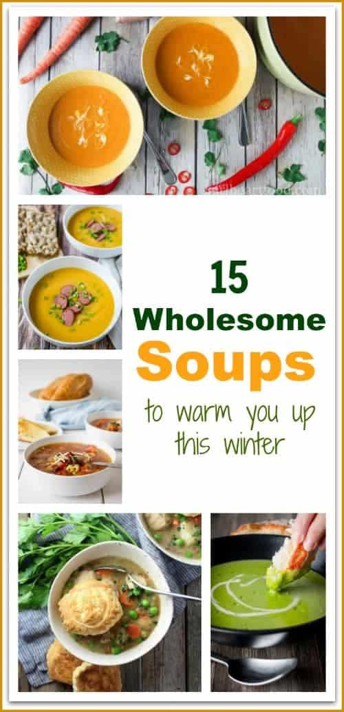 This winter, curl up with a big bowl of warm, delicious soup.