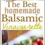 Homemade Balsamic Vinaigrette