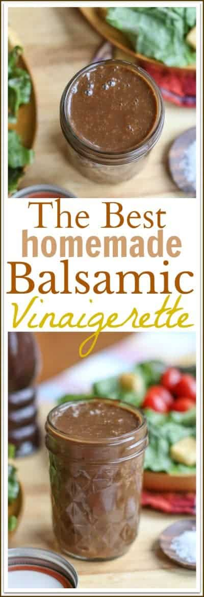 Homemade Balsamic Vinaigrette Recipe