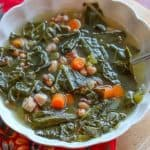 Instant Pot Black Eyed Pea and Collard Green Soup