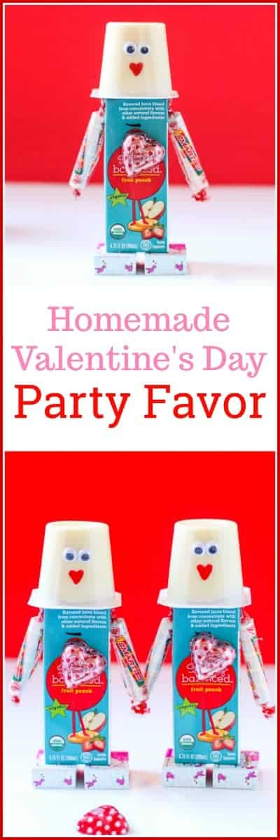 Is your child having a #Valentine's Day party? These DIY Valentine's Day Snacks make the cutestValentine's Day #PartyFavor!