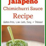 Chimichurri is a tasty Argentina based sauce that you can use to flavor meats, eggs,& vegetables. This jalapeño chimichurri recipe adds in heat.