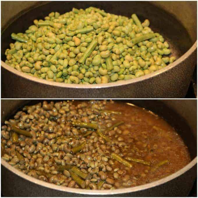 step by step image on How to Cook Field Peas