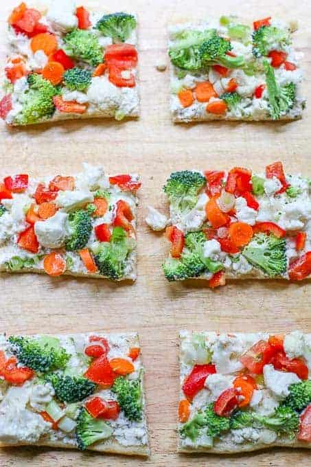 Crescent Roll Cream Cheese Pizza