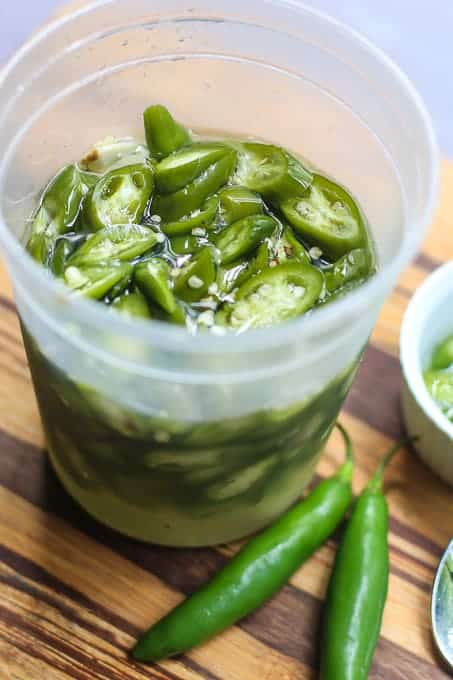 Pickled Hot Peppers-Serrano Pepper Recipe
