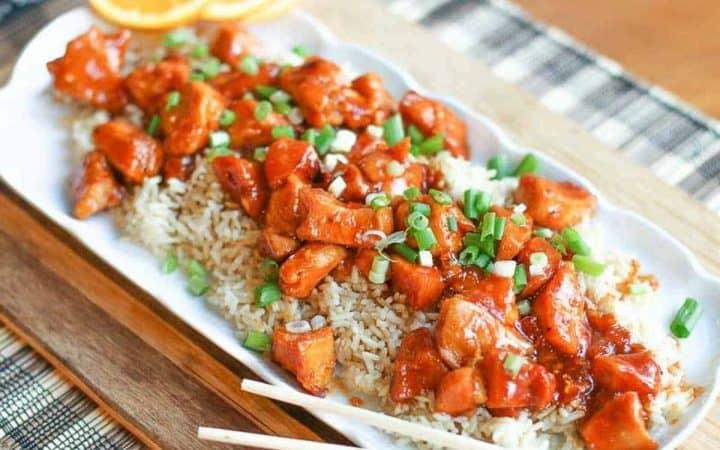 15 Minute Instant Pot Orange Chicken