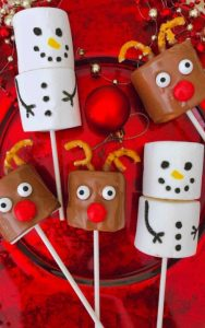 Christmas Marshmallows by Mama Loves to Cook
