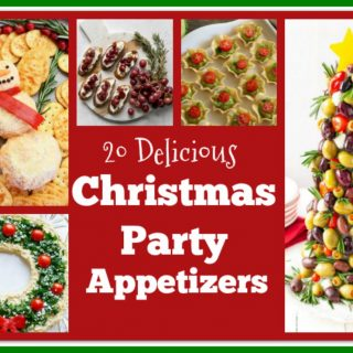 20 Christmas Party appetizers