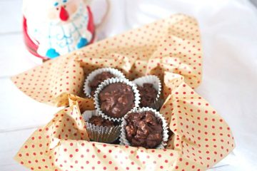 Crispy Tahini Chocolate Cups by Tasty Ever After