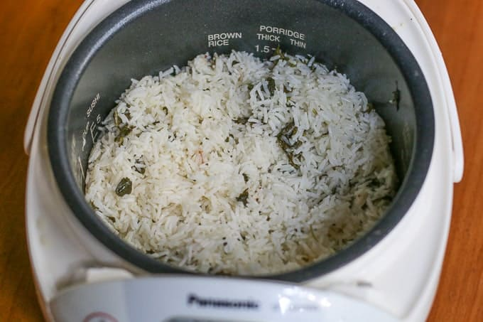 Rice Cooker Coconut Rice recipe