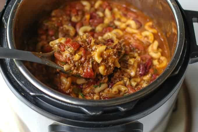 Chili Mac in and Instant Pot