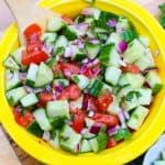 Healthy Middle Eastern Salad
