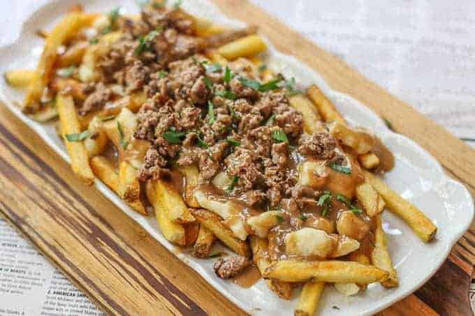 cheeseburger poutine recipe