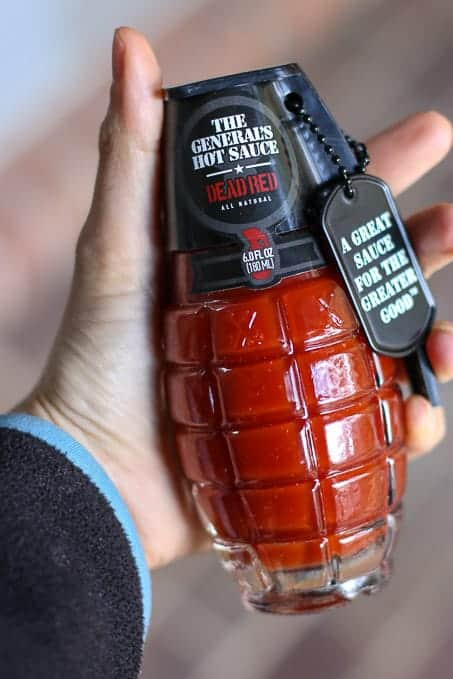 The General's Hot Sauce Dead Red Flavor