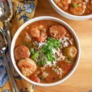 Instant Pot Gumbo with Shrimp and Sausage