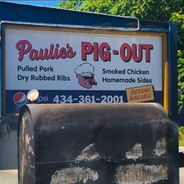 Paulie's Pig Out, Afton, Virgina-Restaurant Review