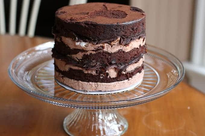 Milk Bar Chocolate Malt Cake