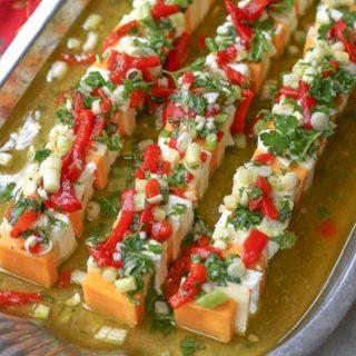 Marinated Cheese Tray