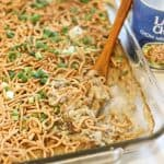 Ground Beef Chow Mein Casserole