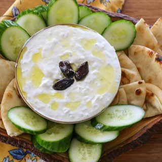 step by step how to make tzatizki