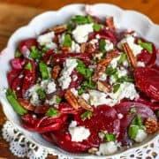 mediterranean beet salad