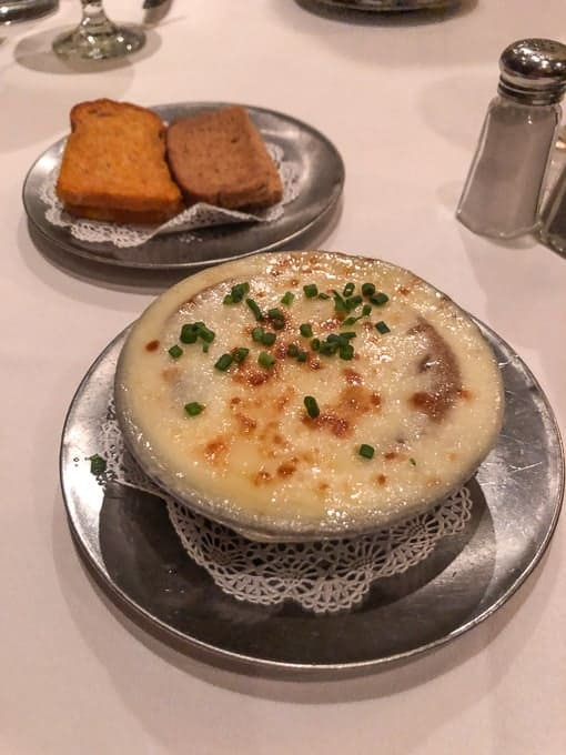 French Onion Soup at Bern's Steakhouse