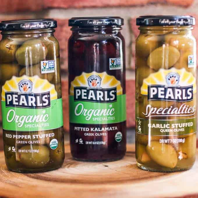 pearls olives