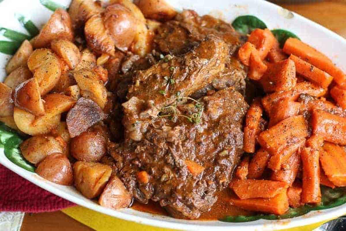 Instant Pot Italian Pot Roast