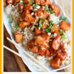 15 Minute Instant Pot Orange Chicken