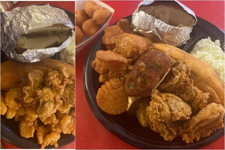 Peaden's Seafood, BBQ, and Chicken Restaurant