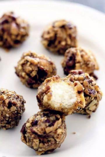 Pecan Log Truffles by Take Two Tapas