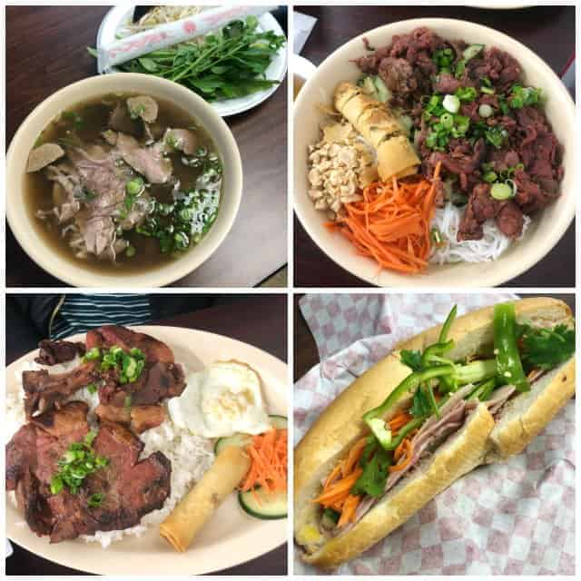 Banh Mi Sandwich and Pho at Saigon Market in Fayetteville NC
