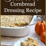 This is Granny's Southern Cornbread Dressing recipe. wonderfully moist and full of flavor. #southerncornbreaddressing #thanksgivingdressing #southerndressing
