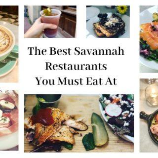 The Best Savannah Restaurants You Must Eat At