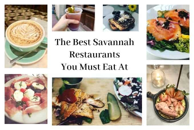 The Best Savannah Restaurants You Must Eat At