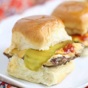 baked burger slider- White Castle copycat
