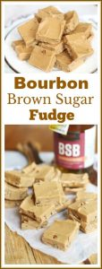 #ad Brown sugar fudge is sweet, creamy, rich, and buttery. This #recipe adds bourbon for an extra complexity in flavor. The brilliant melt in your mouth combination is certain to make your taste buds happy. #aforkstale