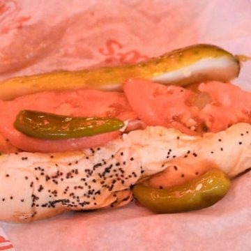 Chicago-Style Hot Dog at Portillo's