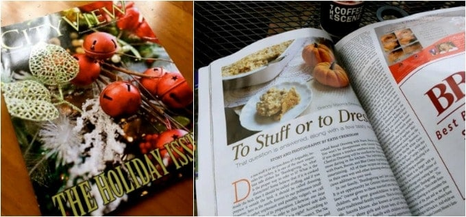 city view magazine article of Southern Dressing Recipe