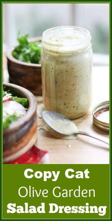 copy cat olive garden salad dressing recipe #olivegarden #olivegardensaladdressing