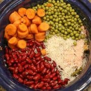 homemade homemade dog food made in crockpot