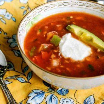 Homemade Tomato Gazpacho