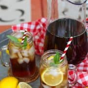 Here in the South, we love our sweet tea. Making it from scratch at home is very easy. Follow these easy steps and tips on how to make sweet tea perfect every time.