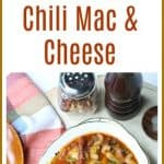 This #InstantPot #ChiliMacandCheese makes the perfect hearty comfort food meal for any day of the week. It is a one pot dish that is easily made in under #30minutes.
