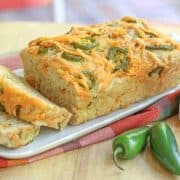 jalapeno cheddar cheese beer bread