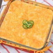 jalapeno cheese grits casserole