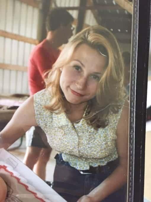 Katie Crenshaw in her 20s