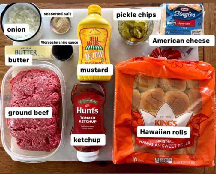 oven burger ingredients