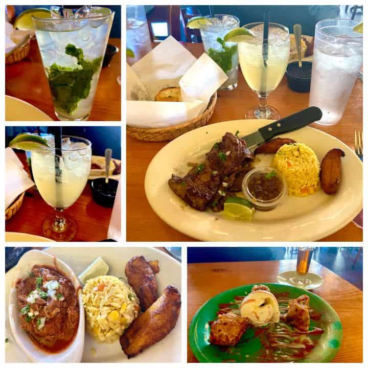 rancho alegre Cuban restaurant in Savannah, Georgia