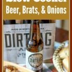 Most of my family lives in Wisconsin. Besides the Packers, Wisconsin is known for their beer, brats, and cheese. In this recipe, I am going to teach you the tricks I have learned on how to cook the most delicious crockpot beer brats and onions you will ever make!